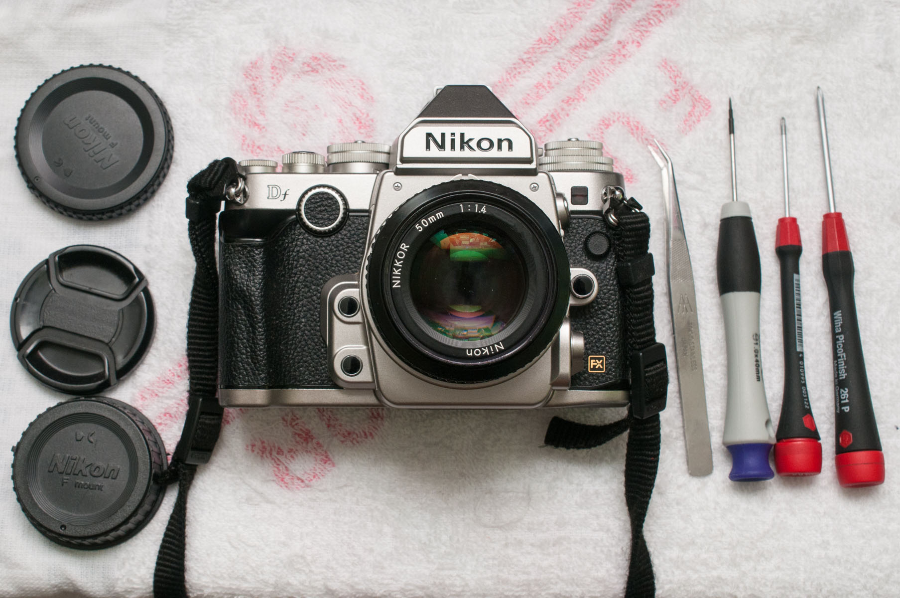 Nikon 50mm F 14 Ai Disassembly And Cleaning My Take On Af 18d Nikkor Lens Df The Cleaned